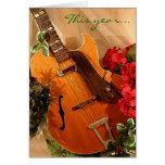 Pequeña tarjeta de Navidad chillona