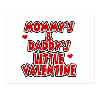 Pequeña tarjeta del día de San Valentín de la mamá Tarjeta Postal