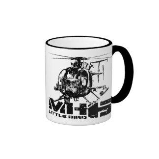Pequeña taza de café del campanero del pájaro MH-6