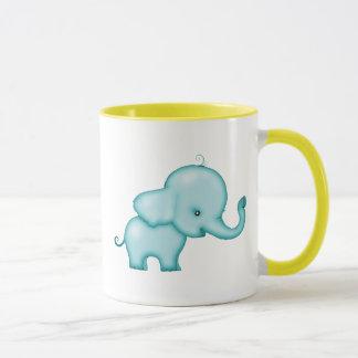 Pequeña taza del elefante