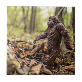 Pequeña teja cuadrada el | Sasquatch de Bigfoot