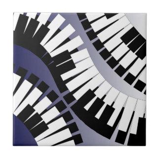Pequeña teja del piano