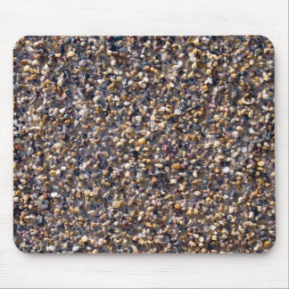 Pequeña textura colorida de las piedras del guijar alfombrillas de raton