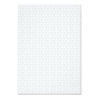 """Pequeña textura sutil del pañuelo de Paisley Invitación 3.5"""" X 5"""""""