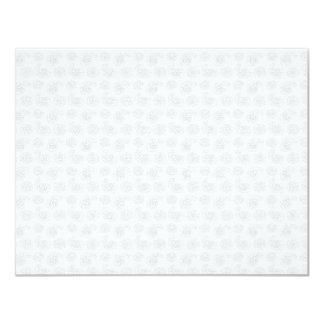 """Pequeña textura sutil del pañuelo de Paisley Invitación 4.25"""" X 5.5"""""""