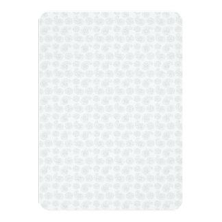 """Pequeña textura sutil del pañuelo de Paisley Invitación 4.5"""" X 6.25"""""""