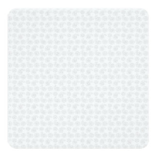 """Pequeña textura sutil del pañuelo de Paisley Invitación 5.25"""" X 5.25"""""""
