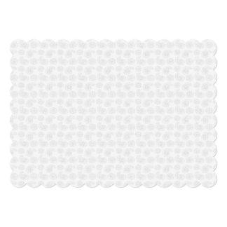 """Pequeña textura sutil del pañuelo de Paisley Invitación 5"""" X 7"""""""