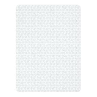 """Pequeña textura sutil del pañuelo de Paisley Invitación 6.5"""" X 8.75"""""""