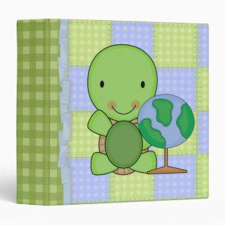 """pequeña tortuga linda de la geografía carpeta 1 1/2"""""""