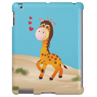 Pequeña una jirafa, caso del iPhone