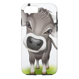 Pequeña vaca suiza funda iPhone 7