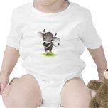 Pequeña vaca suiza traje de bebé