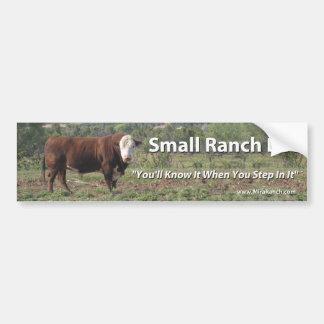 Pequeña vida del rancho pegatina para auto