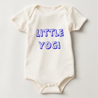 Pequeña yogui - ropa de la yoga del bebé mamelucos