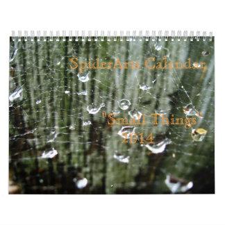 """""""Pequeñas cosas"""" calendario impreso 2014"""