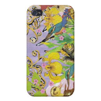 Pequeñas criaturas 4 iPhone 4 carcasas