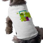 Pequeñas criaturas del extranjero del monstruo camisetas de mascota