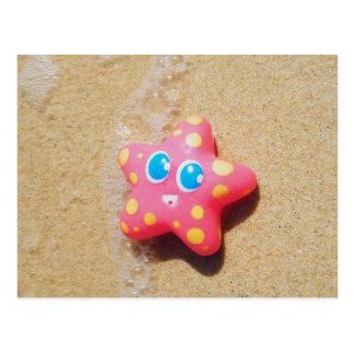 Pequeñas estrellas de mar tarjeta postal