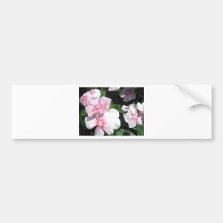 Pequeñas flores pegatina para auto