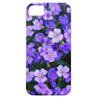 Pequeñas flores púrpuras funda para iPhone SE/5/5s