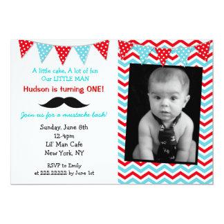Pequeñas invitaciones de la fiesta de cumpleaños invitación 12,7 x 17,8 cm