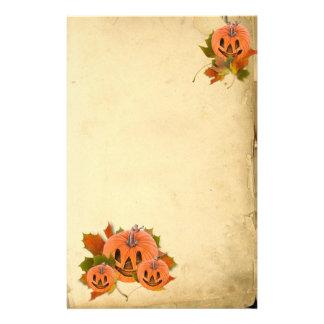 Pequeñas Jack-o-Linternas lindas de Halloween Papeleria De Diseño