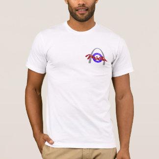 Pequeñas modas impresas del logotipo de los playera