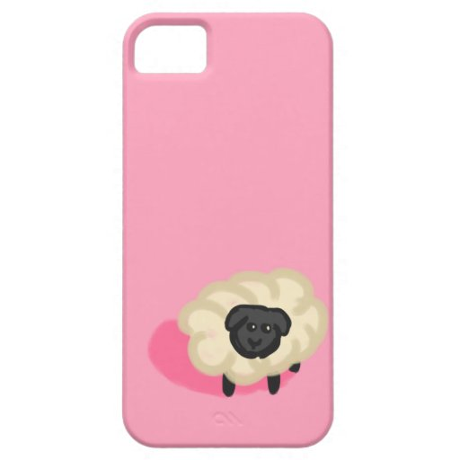 Pequeñas ovejas iPhone 5 Case-Mate protectores