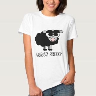 Pequeñas ovejas negras lindas poleras