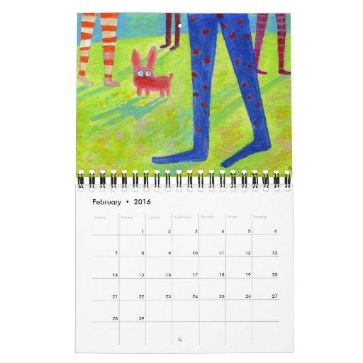 pequeñas pinturas para 2013 calendario