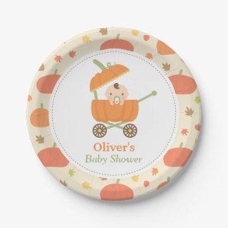 Pequeñas placas lindas de la fiesta de bienvenida platos de papel