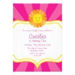 Pequeñas rayas de Srta. Sunshine Sun Invitation Ra