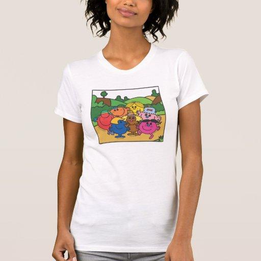 Pequeñas Srtas. Camiseta