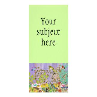 Pequeñas tarjetas del estante de las criaturas lonas publicitarias