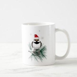 Pequeñas tazas del gorrión de Santa