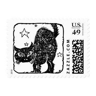 """Pequeño, 1,8"""" x 1,3"""", $0,49 (1ra clase 1oz) - gato sello postal"""