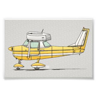 Pequeño aeroplano lindo cojinete
