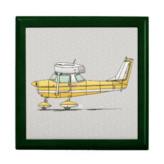 Pequeño aeroplano lindo caja de regalo
