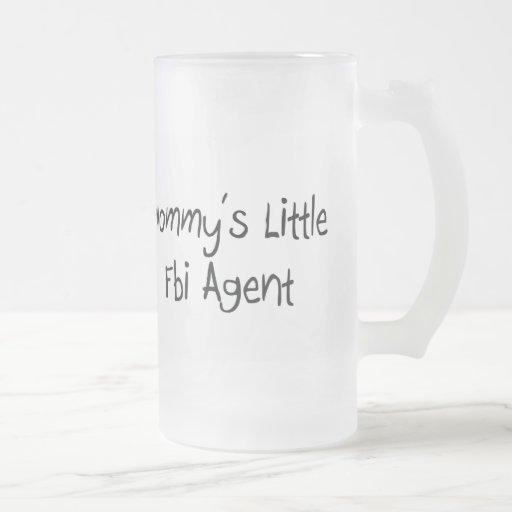 Pequeño agente del FBI de Mommys Taza