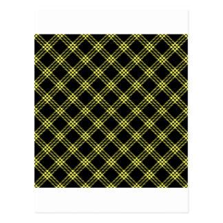 Pequeño amarillo del Diamante-Unmellow de cuatro b Postales