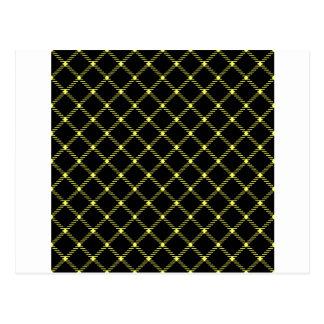 Pequeño amarillo del Diamante-Unmellow de dos Postal