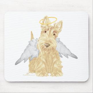 Pequeño ángel del escocés alfombrillas de ratón