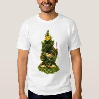 Pequeño árbol de navidad polera