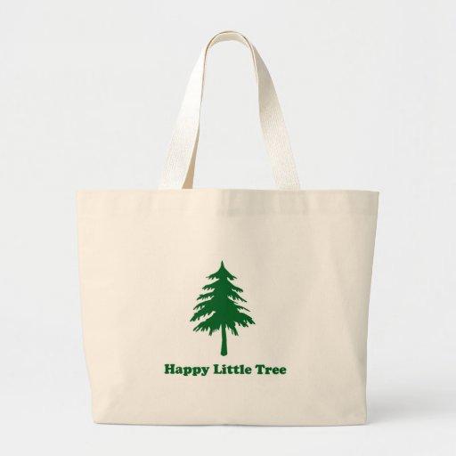Pequeño árbol feliz bolsas