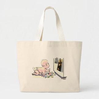 Pequeño artista bolsa lienzo