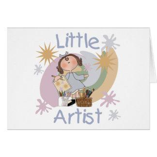 Pequeño artista tarjeta de felicitación