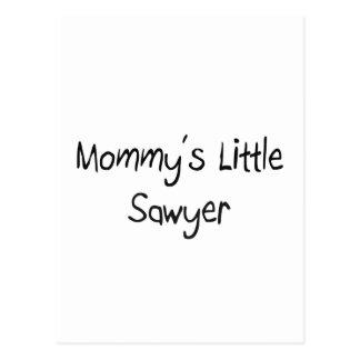 Pequeño aserrador de Mommys Postal