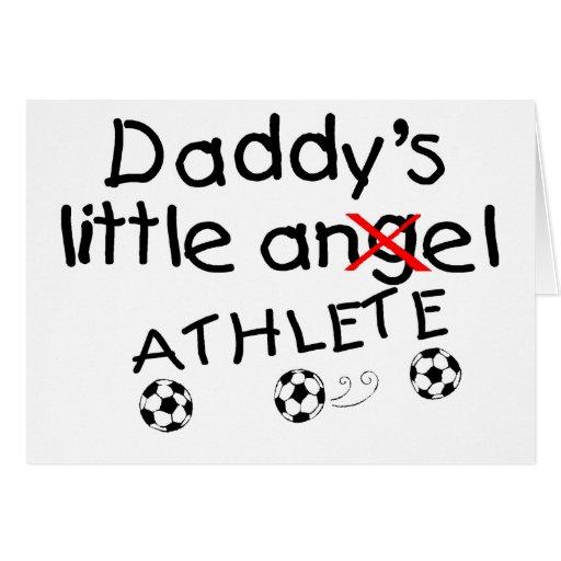 Pequeño atleta de Daddys (fútbol) Felicitacion