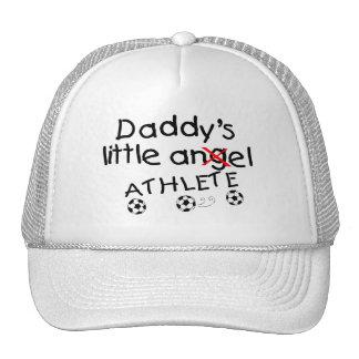 Pequeño atleta de Daddys (fútbol) Gorros Bordados